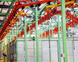 機械工業制造電纜使用案例