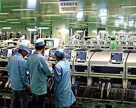 手機工廠電纜使用案例